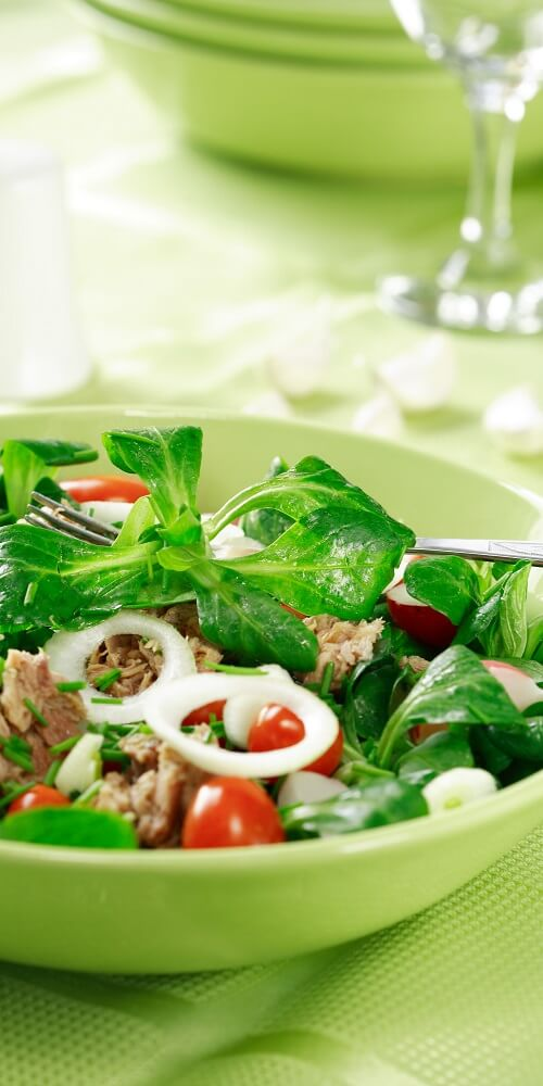 A healthy meal - Flora Nutrition