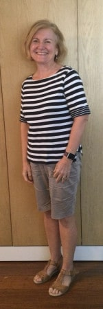 Beautiful Janet - Front view after her transformation on the Metabolic Balance® program for weight loss and to restore health